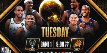 Finales NBA: Les petits marchés prennent le pouvoir, Suns/Bucks