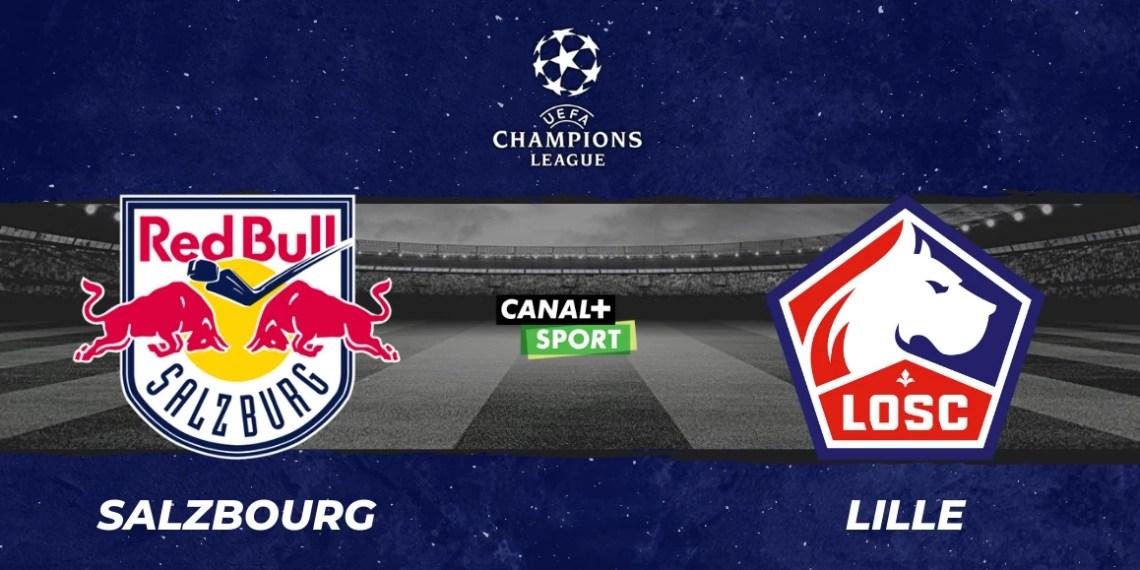 Regarder Red Bull Salzburg vs Lille en streaming !