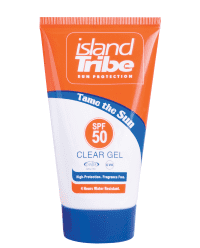 Island tribe SPF50 clear gel 50ml