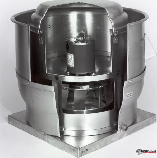 centrifugal upblast direct drive fan