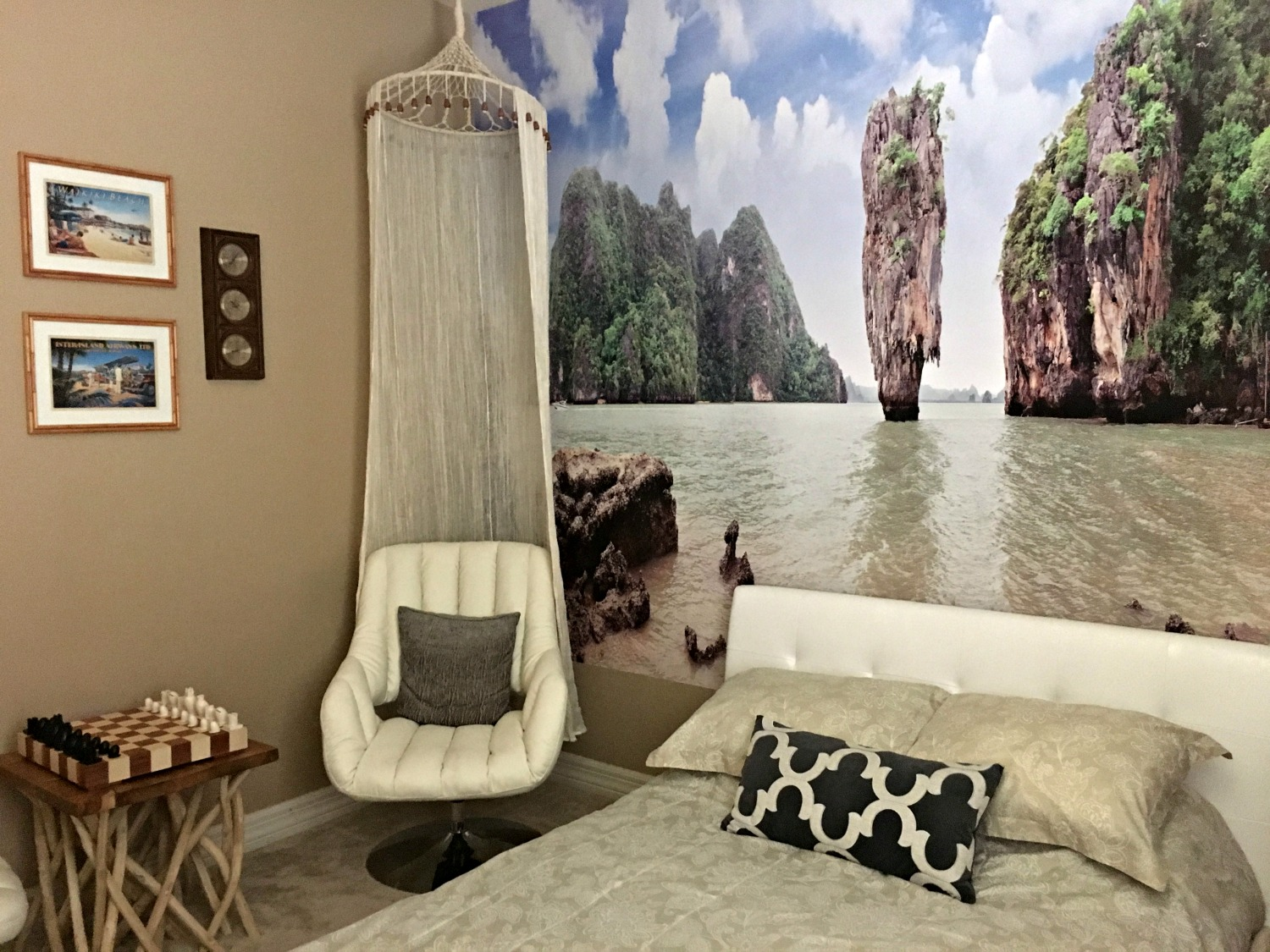 Beach Style: James Bond Island Makeover & How to add Beach Style to Your Home