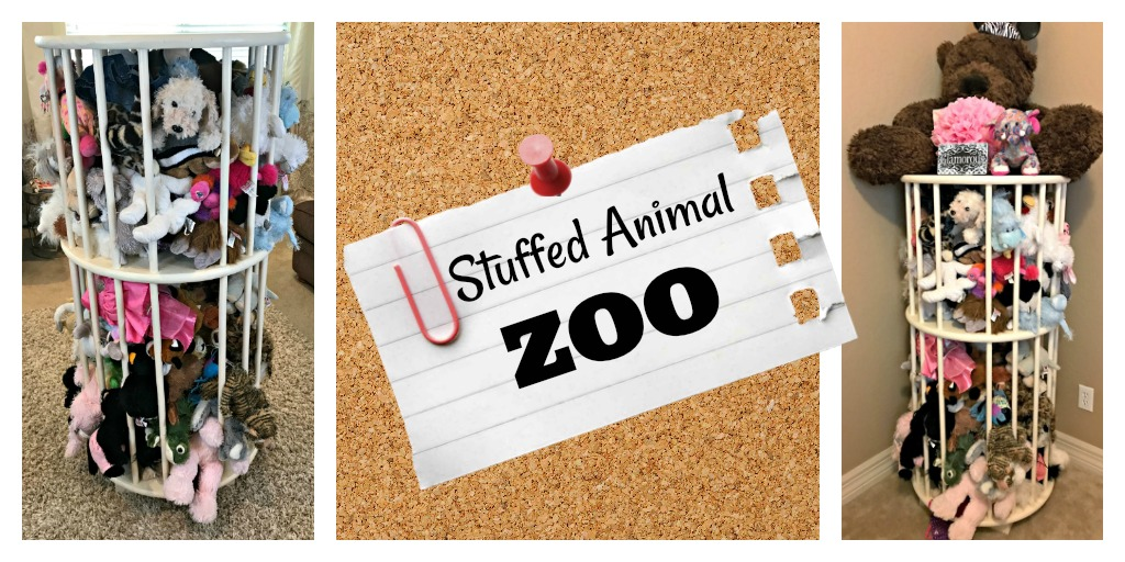 Easy Stuffed Animal Zoo Tutorial