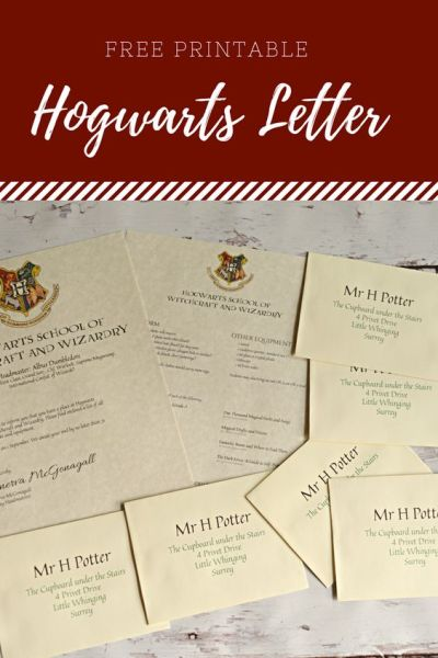 Free Harry Potter Printable from HouseWifeEclectic.com