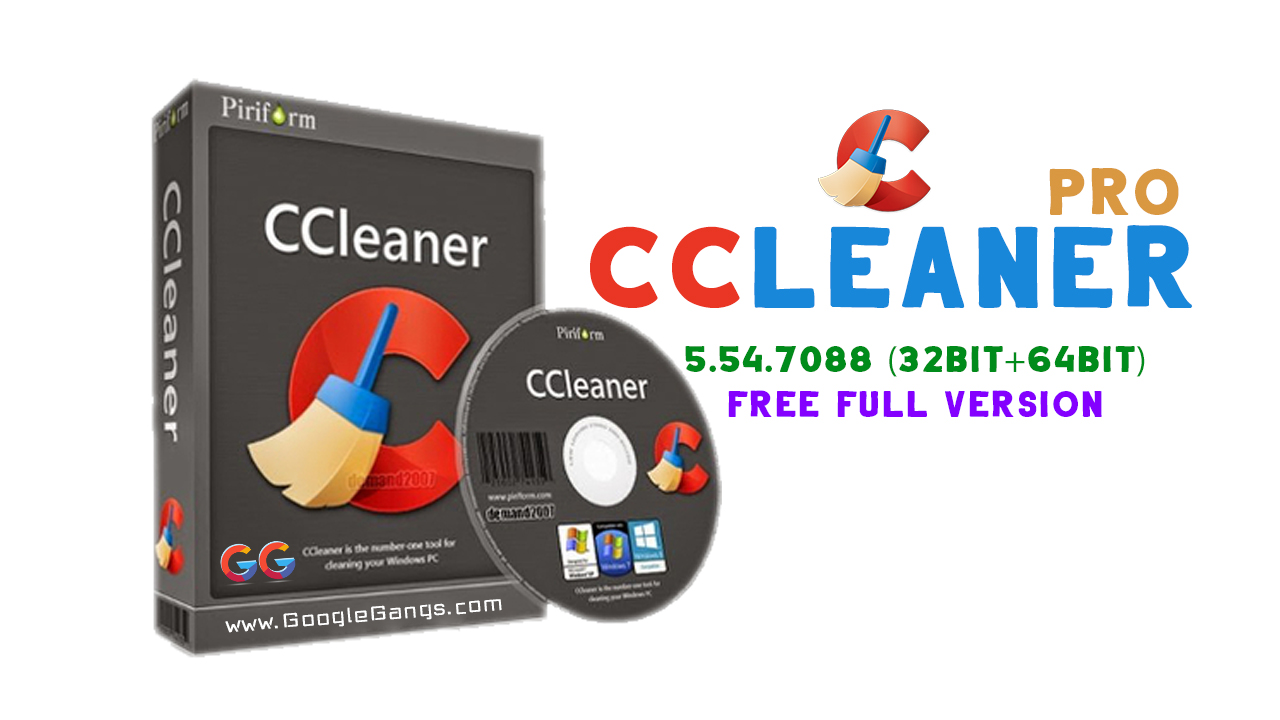 CCleaner Pro 5.54.7088 32bit64bit Free Full Version
