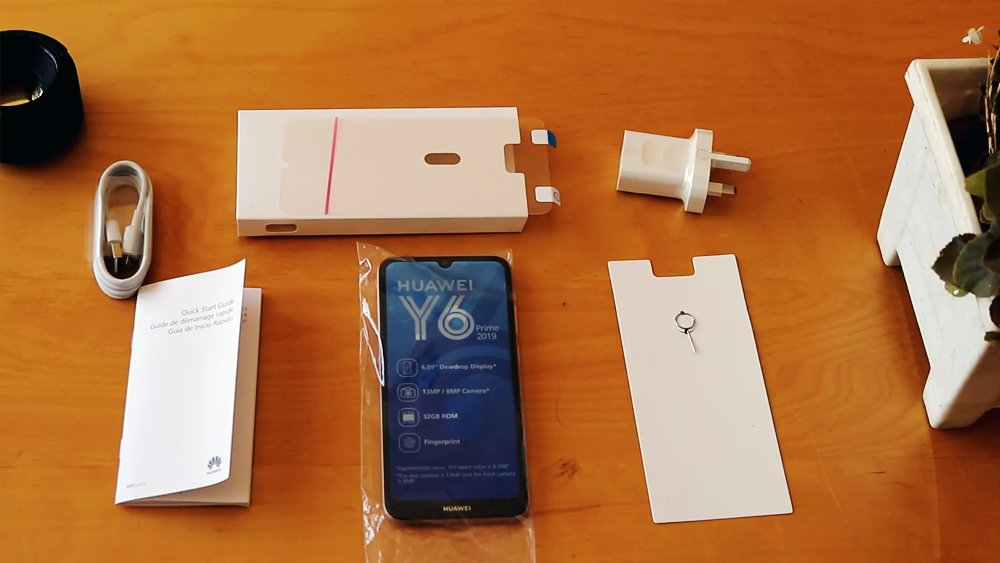 Huawei Y6 Prime 2019 Unboxing First Look
