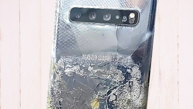 Photo of Samsung denies burning of new Galaxy phone