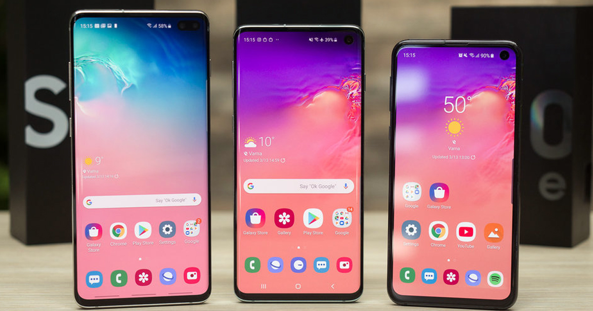 Take 20 Percent Off The Dual SIM Unlocked Samsung Galaxy S10 S10 And S10e