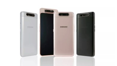 Photo of The Galaxy A80 is designed with three reversible cameras