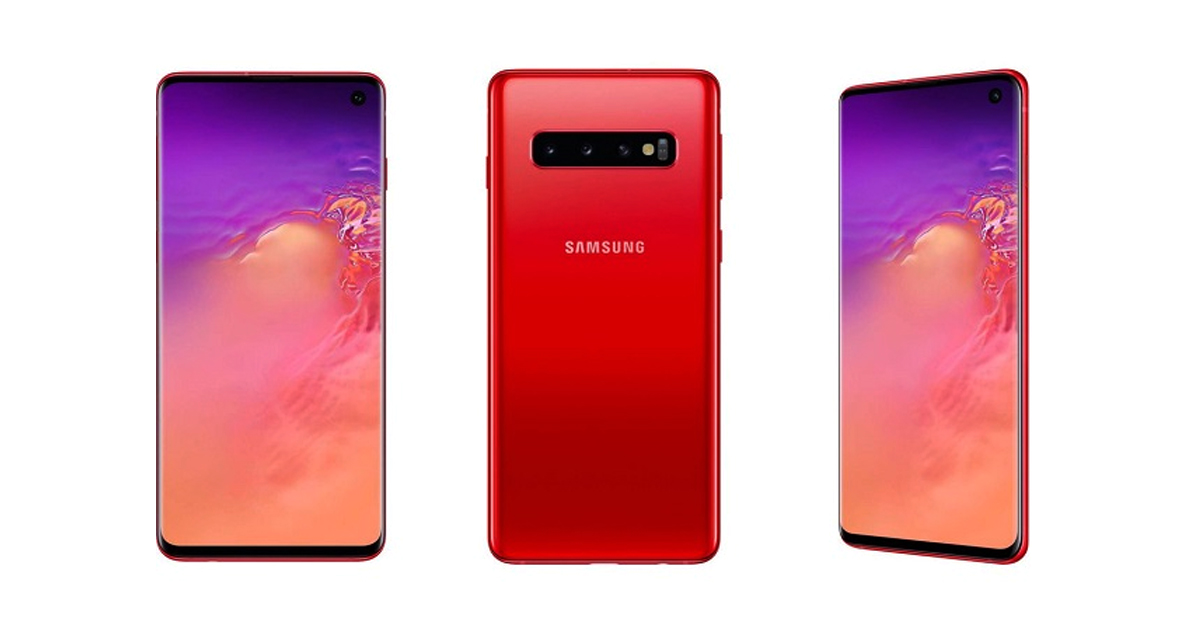 Cardinal Red Version of Galaxy S10 Coming next month