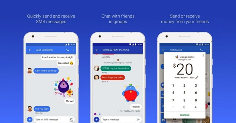 New Google Chat A Version Of IMessage For Android