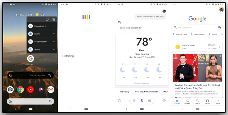Google Assistant Search