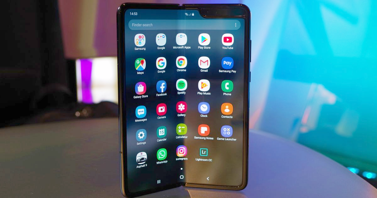 In September, Samsung will launch foldable smartphones