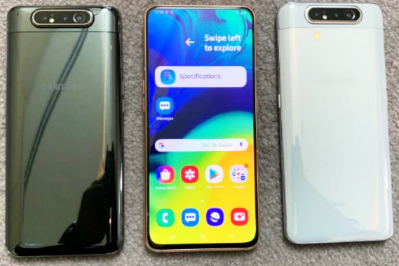 Samsung Galaxy A80 Unboxing First Look