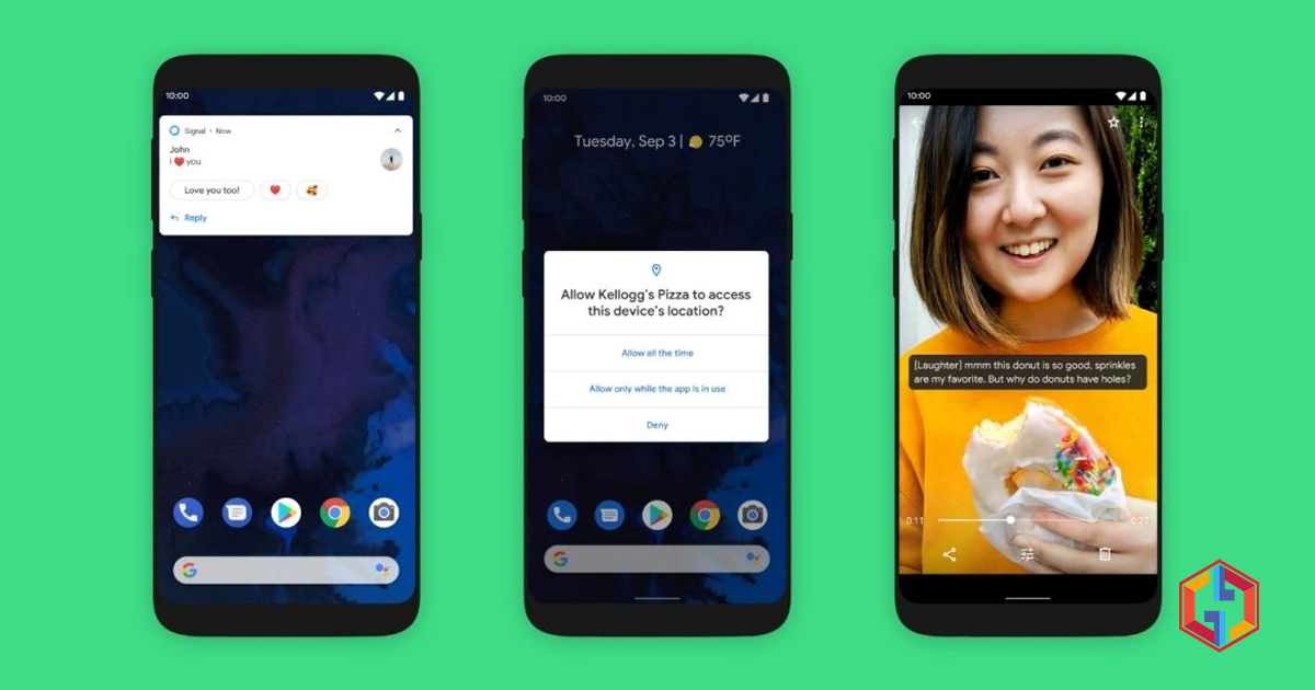 Google officially launched Android 10 for Pixel phones