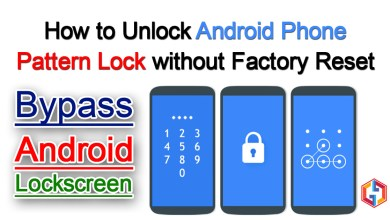 Photo of How to unlock android phone pattern lock without factory reset