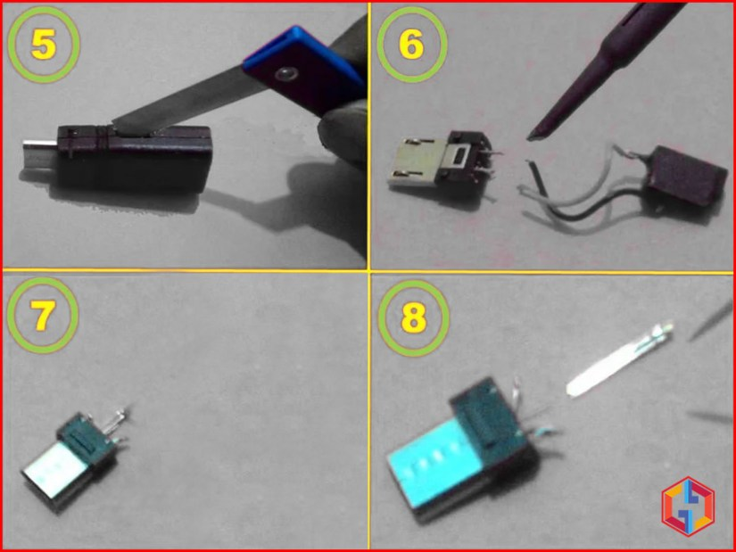 How To Prepare The Micro USB Pin