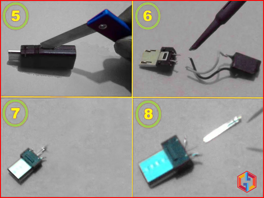 How to Prepare Micro USB Pin