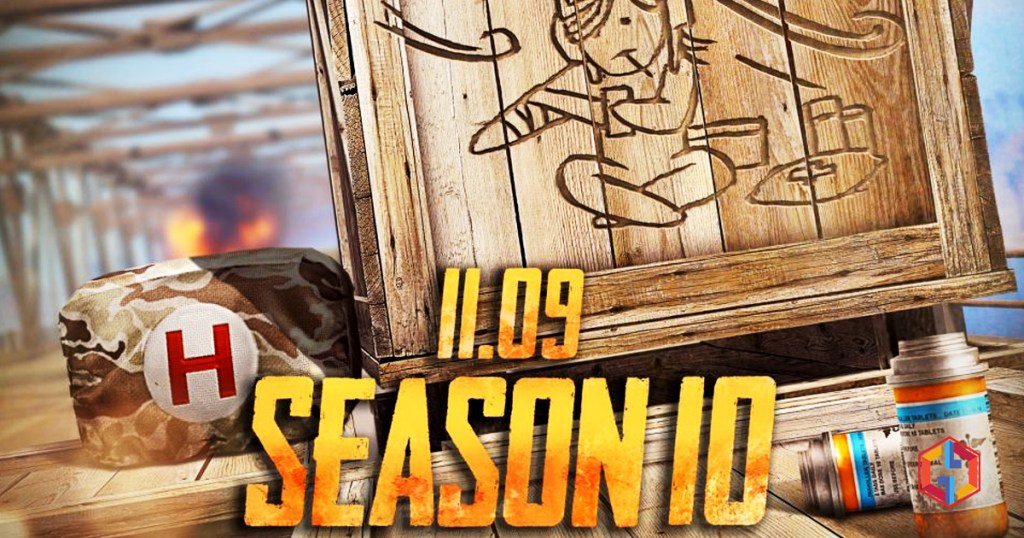 PUBG Mobile Season 10: Arrival of new skins and weapons on November 10