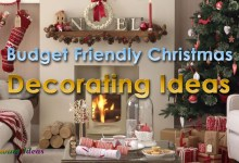 Photo of Top Stylish Budget Friendly Christmas Decorating Ideas