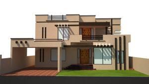 Best 1 Kanal House Design Ideas 40