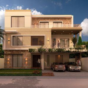 Best 1 Kanal House Design Ideas 62