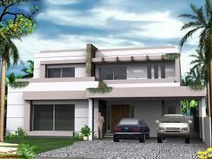 Best 1 Kanal House Design Ideas 85