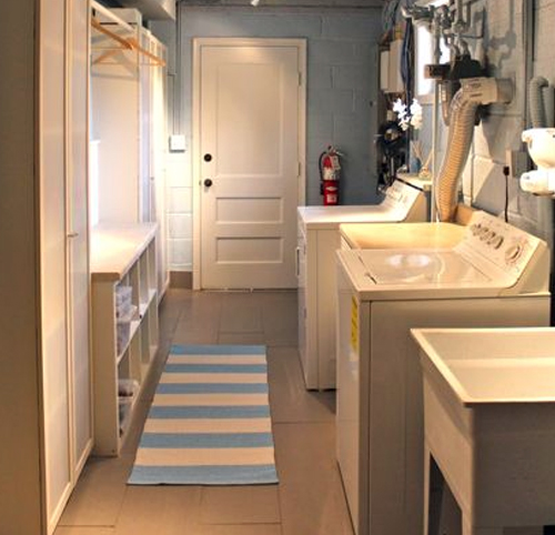 Laundry Room in the Basement