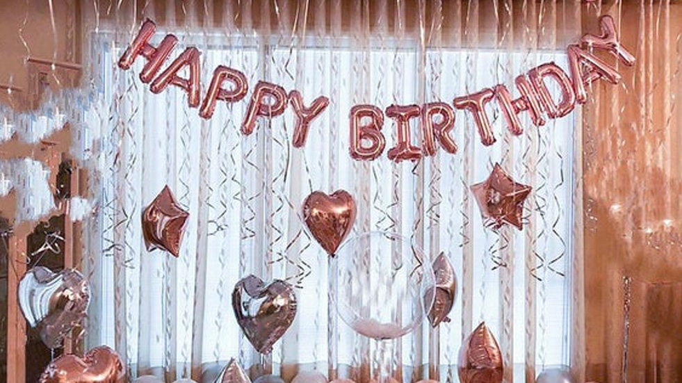 Birthday Party Room And Wall Decor