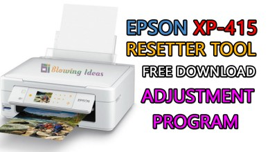 Photo of Epson XP-415 Printer Resetter Tool Free Download
