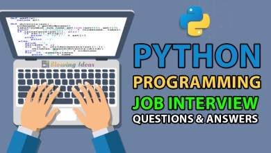 Python Programming Interview Questions & Answers