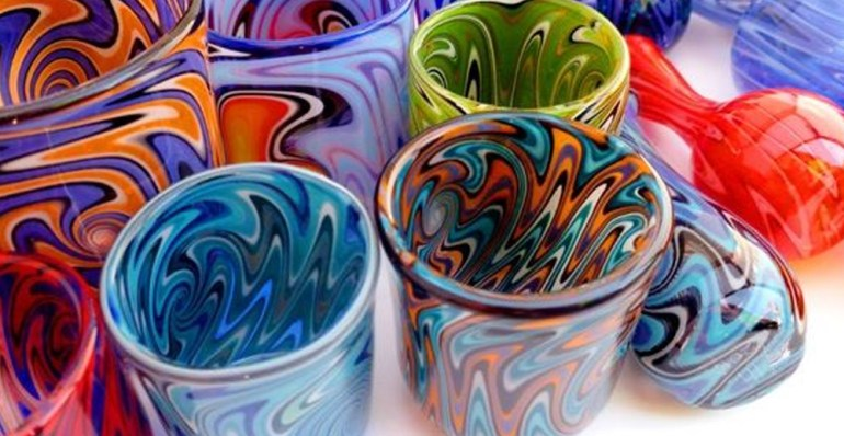 Blowing Painted Glass for Beginners