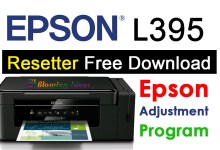 Photo of Epson L395 Resetter Adjustment Program Free Download