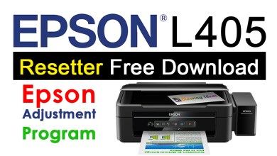 Photo of Epson L405 Resetter Adjustment Program Free Download