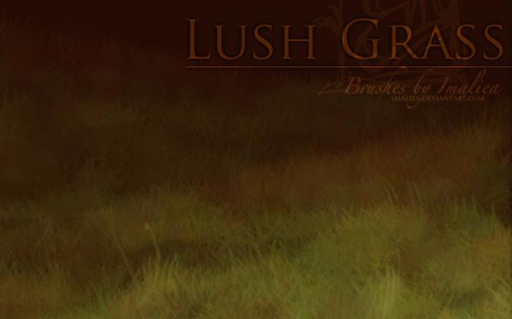 Lush Grass Brush