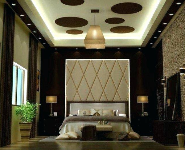 Black and White Bedroom ceiling decoration