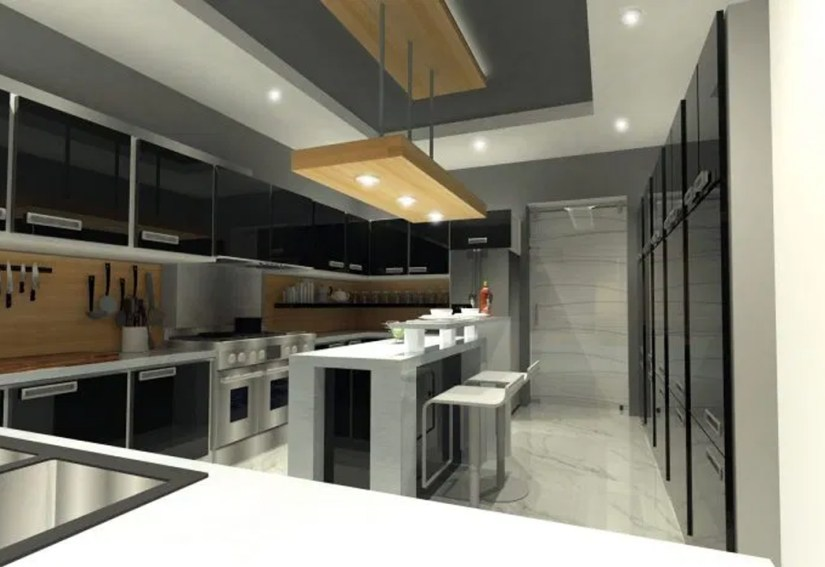 Kitchen False Ceiling Design