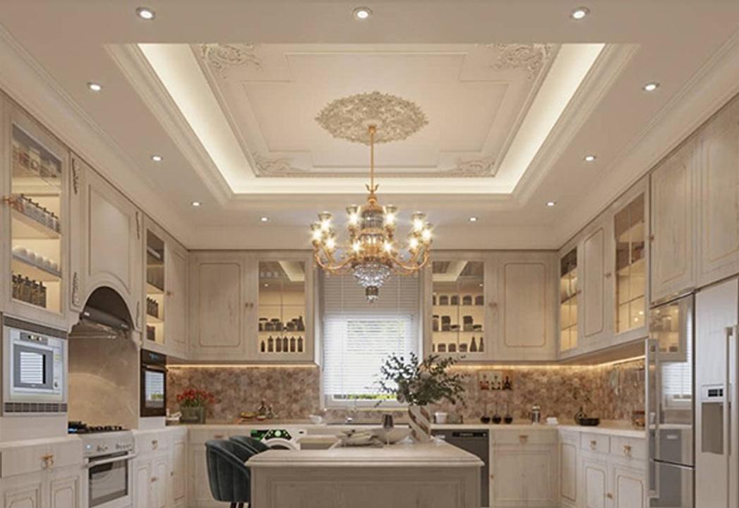 Luxurious Kitchen Ceiling Design