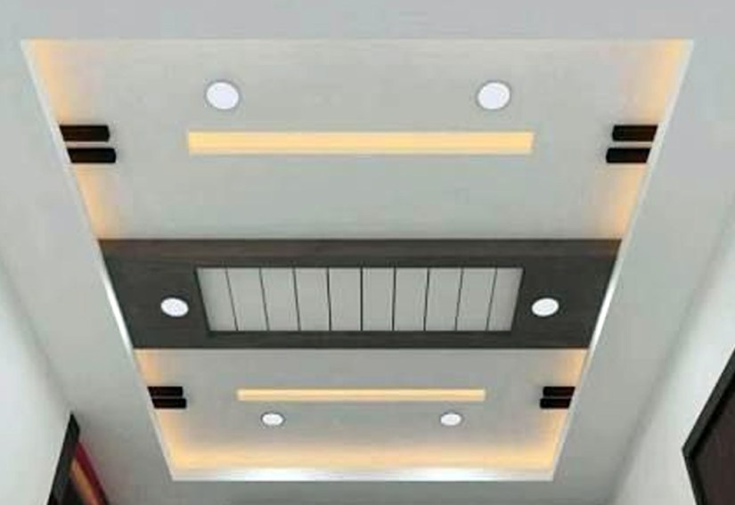 Small Classic Kitchen Ceiling Design