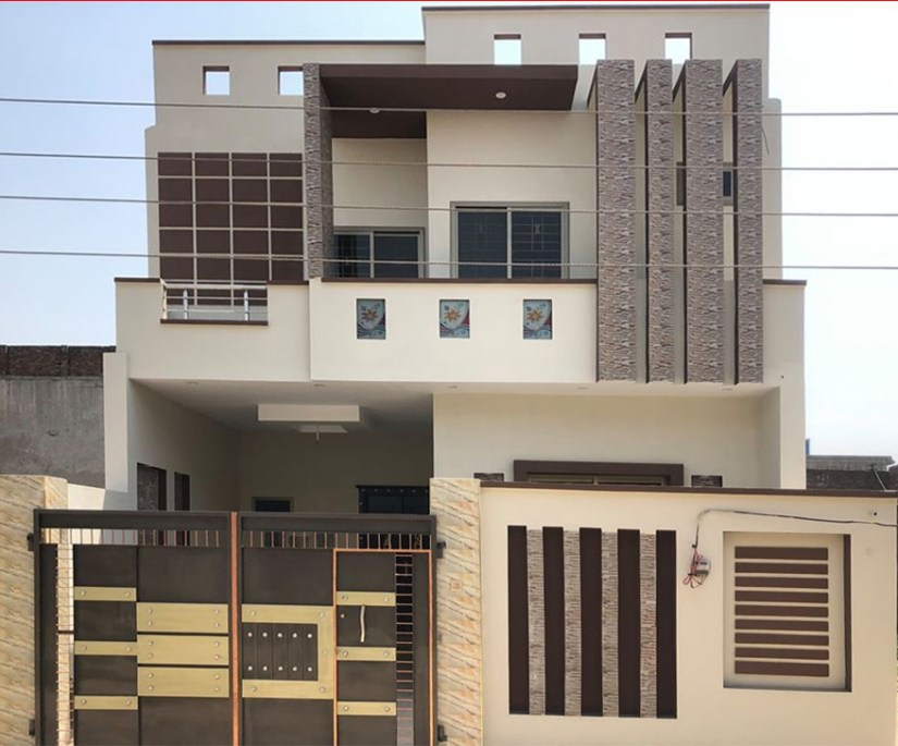 6.25 Marla House Design in Gujranwala Pakistan