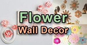 Flower Wall Decor Ideas