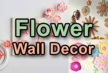 Photo of Best Flower Wall Decor Ideas