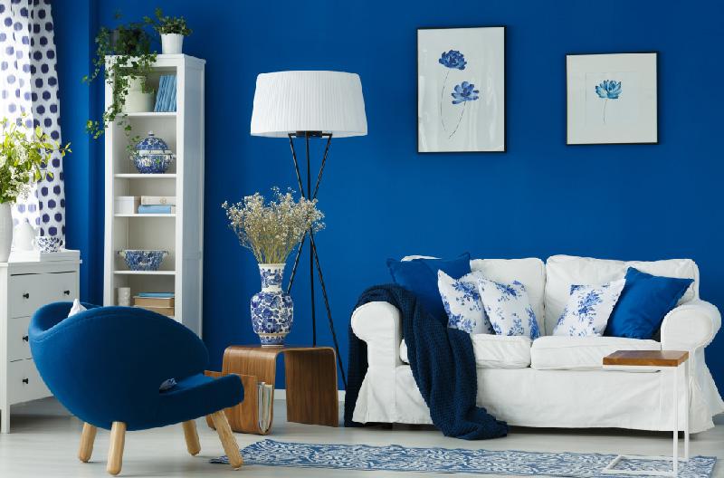 Blue Color In Interior Design