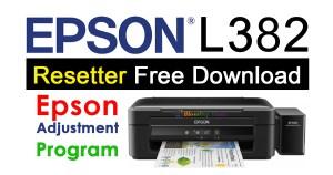 Epson L382 Resetter
