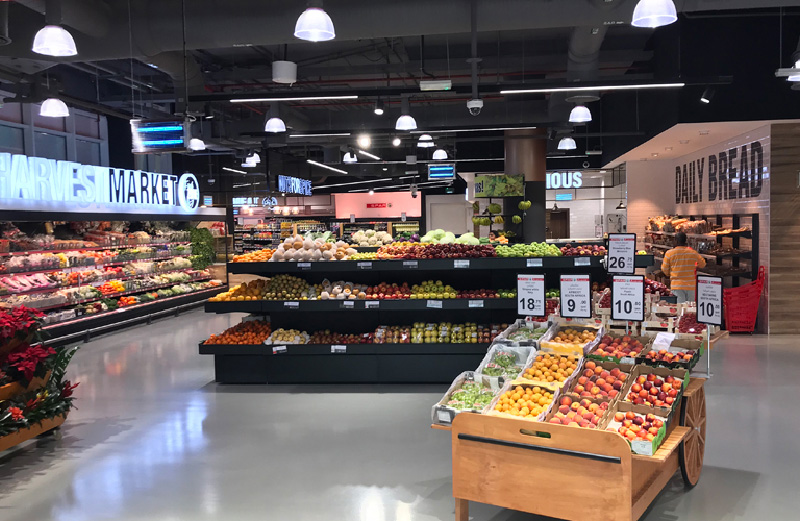 Grocery Shop Interior