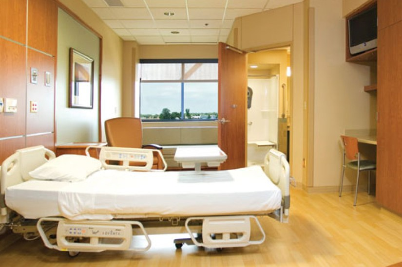 Hospital Private Bedroom Interior