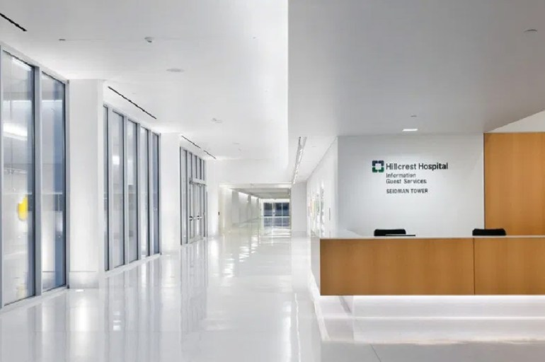 Hospital Reception Interior