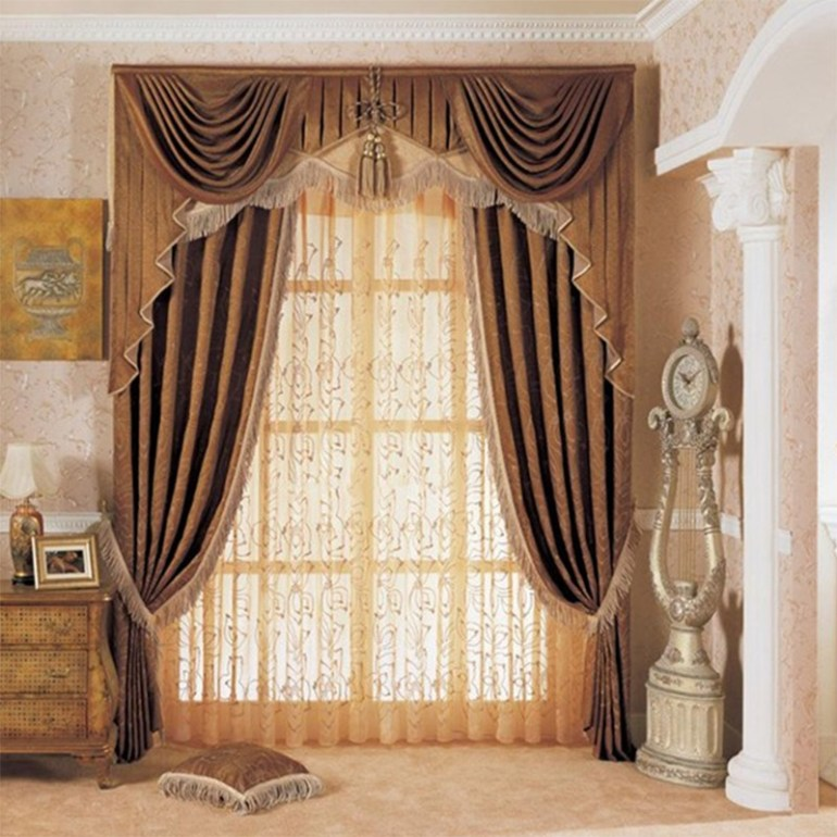 Indian Style Curtain Designs