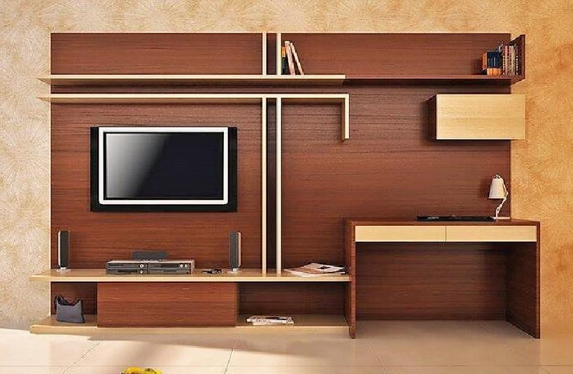 Living Room Media Wall