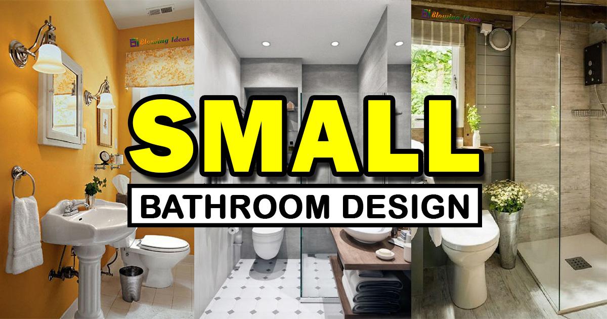 Small Bathroom Design Ideas For Home