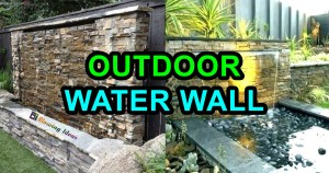 Outdoor Water Walls